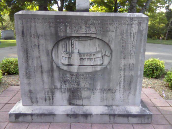 S.S. Sultana Memorial