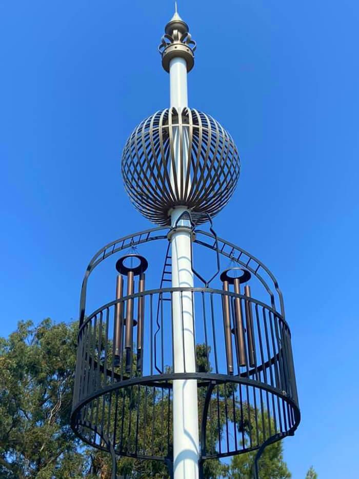 Solvang Wind Harp