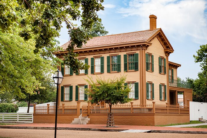 The Lincoln Home National Historic Site