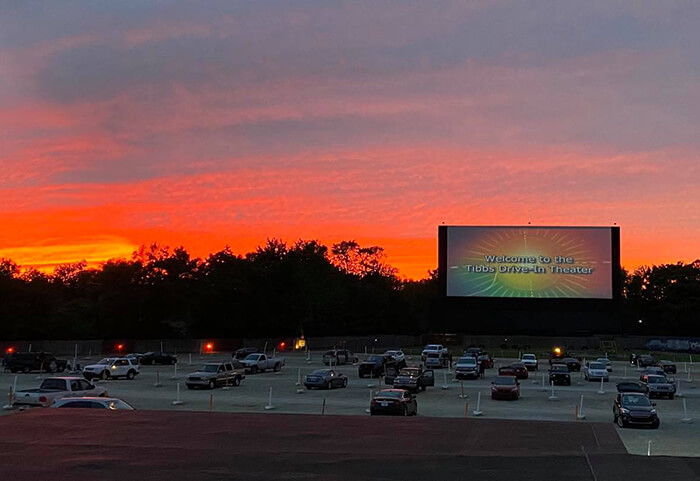 Tibbs Drive-in Theatre