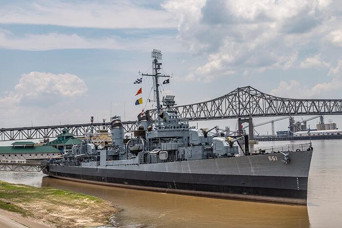 USS KIDD Veterans Museum