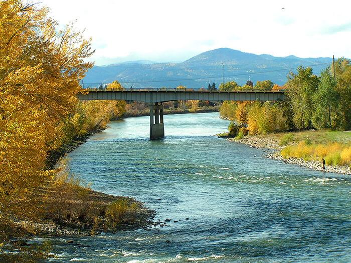 Clark Fork Riverfront Trail