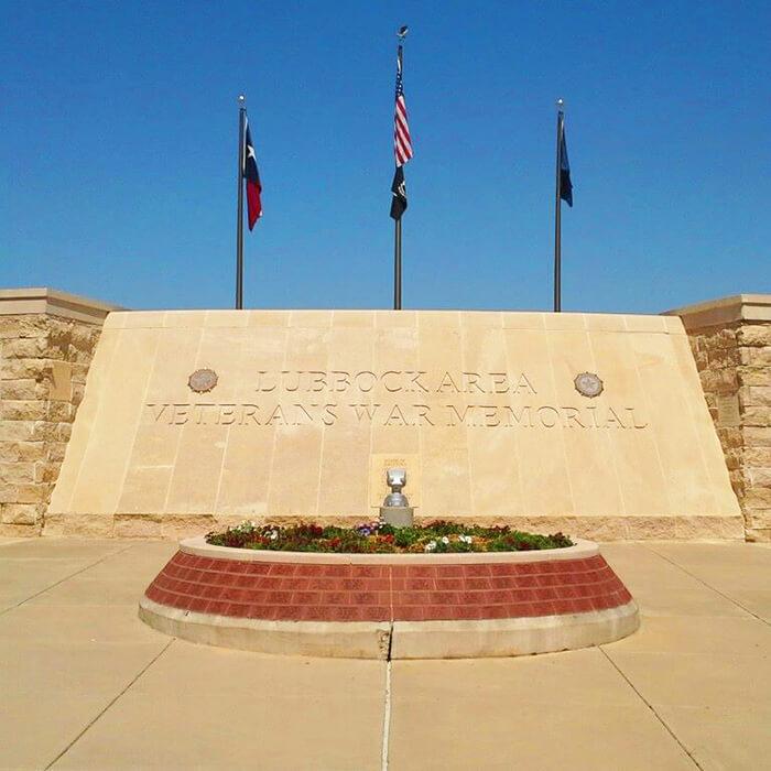Lubbock Veterans War Memorial