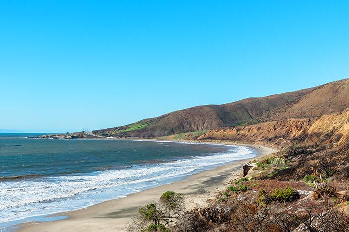 Nicholas Canyon Beach