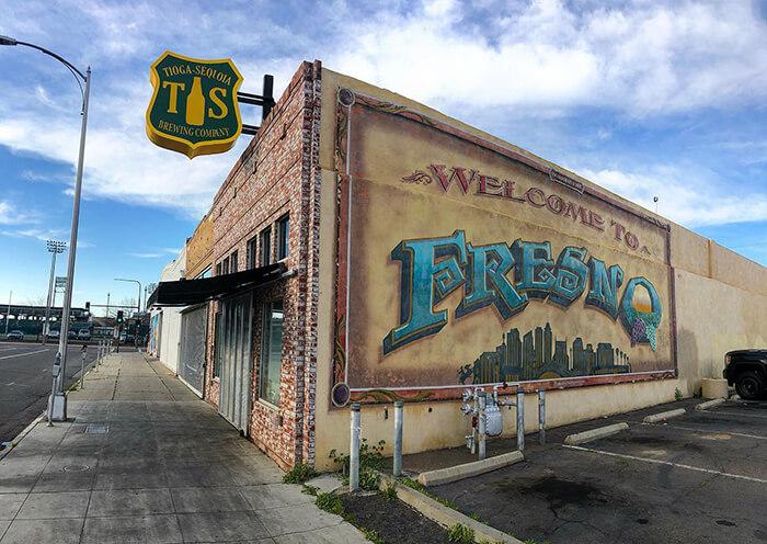 Tioga-Sequoia Brewing Company Beer Garden