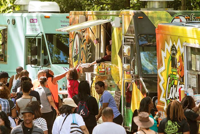 Visit a Food Truck