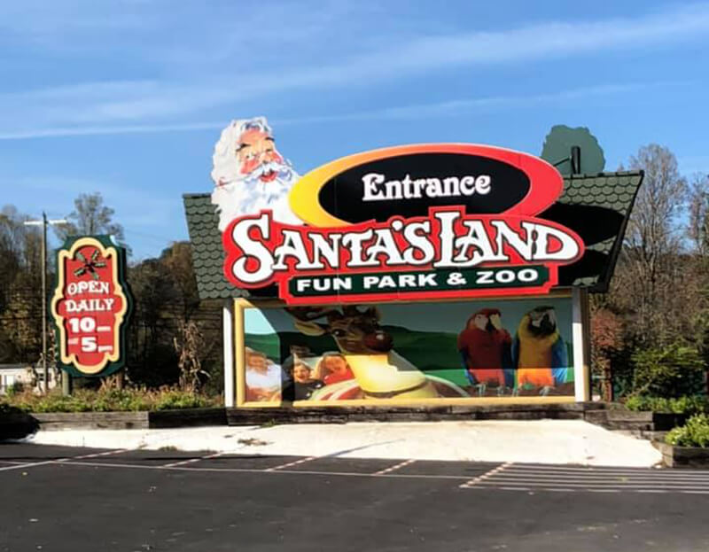 Santa's Land Fun Park and Zoo
