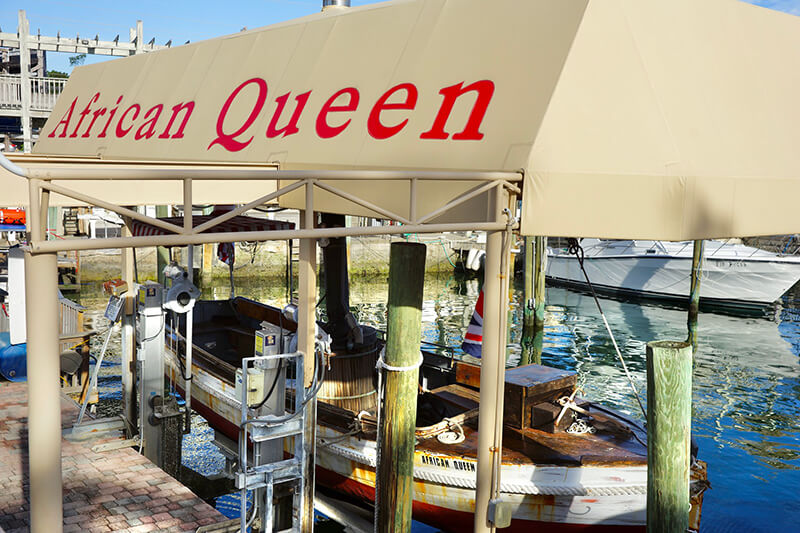 African Queen Canal Cruise