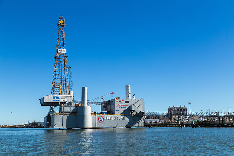 The Ocean Star Offshore Drilling Rig and Museum