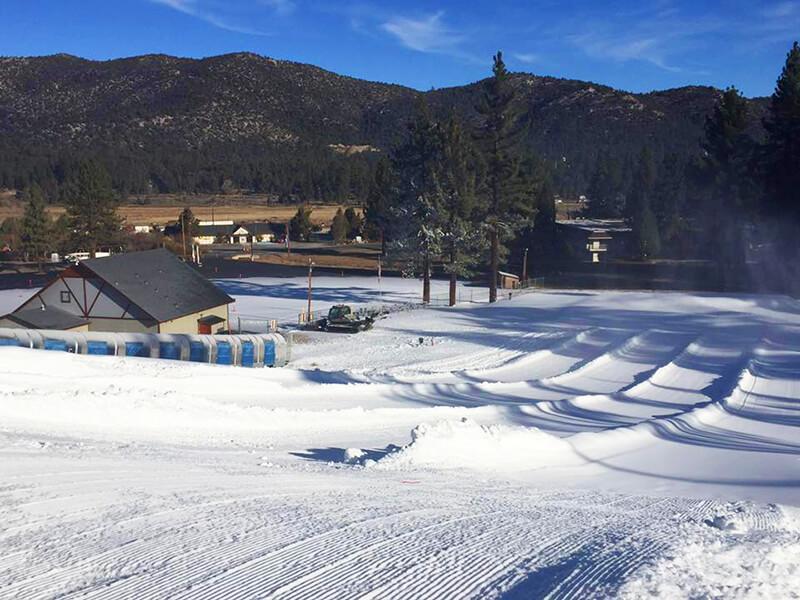 Big Bear Snow Play