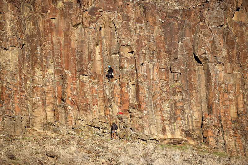 Black Cliffs Rock Climbing