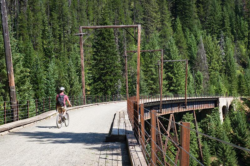 Hiawatha Mountain Bike and Hike Trail