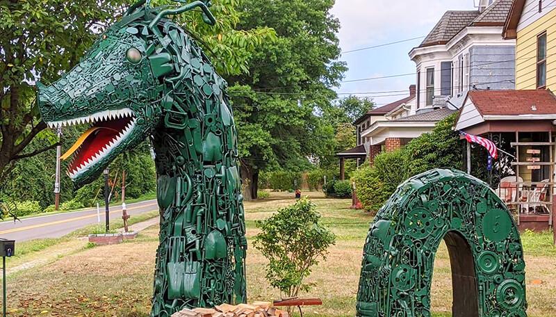 Ken Sinsel's Metal Sculptures