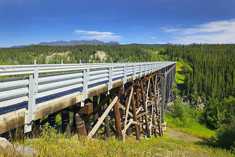 Kuskulana River Bridge