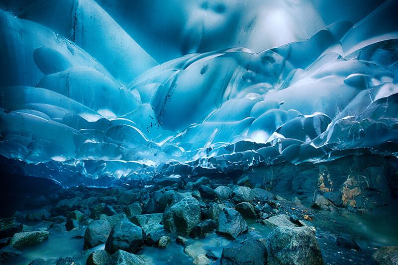 Mendenhall Ice Caves