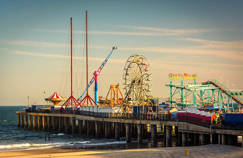 Steel Pier Amusement Park