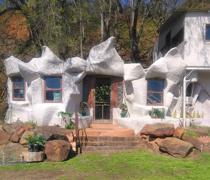 The Cave House of Tulsa