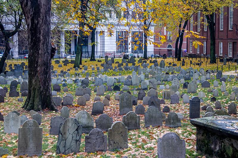 Boston's Old Burying Grounds