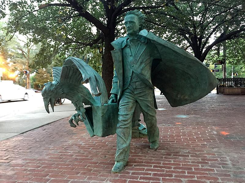 Edgar Allan Poe Square