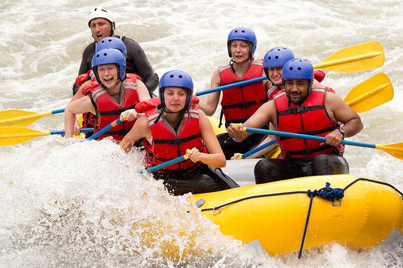 AVA Rafting and Zipline