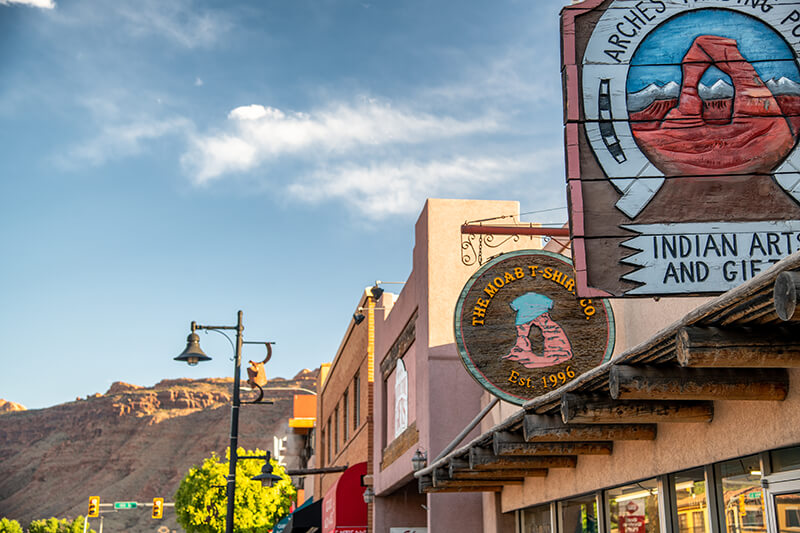 Downtown Moab