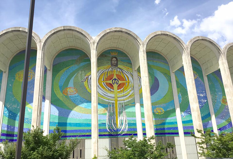 Eggbeater Jesus at First Baptist Church