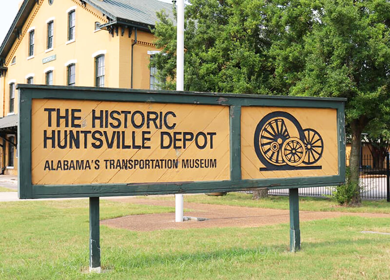 Historic Huntsville Depot Museum