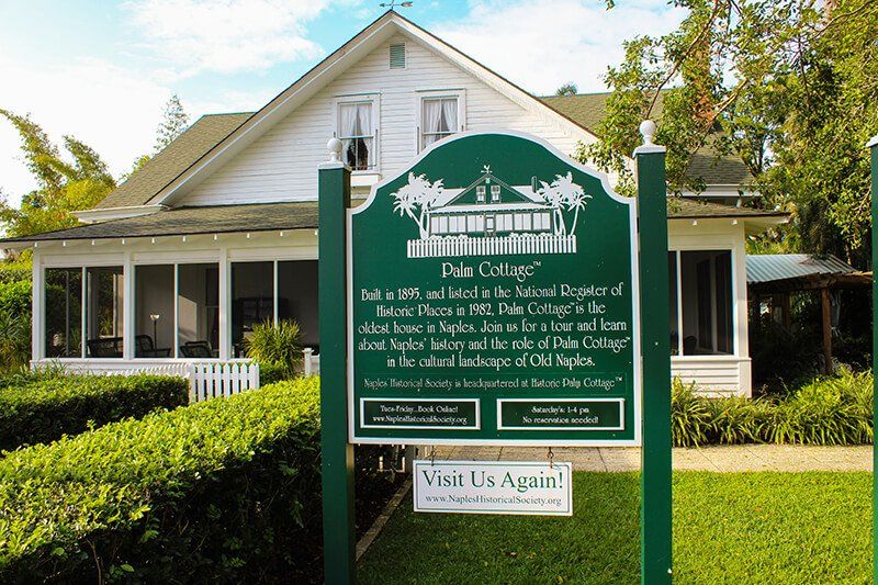 Naples Historical Society and Historic Palm Cottage