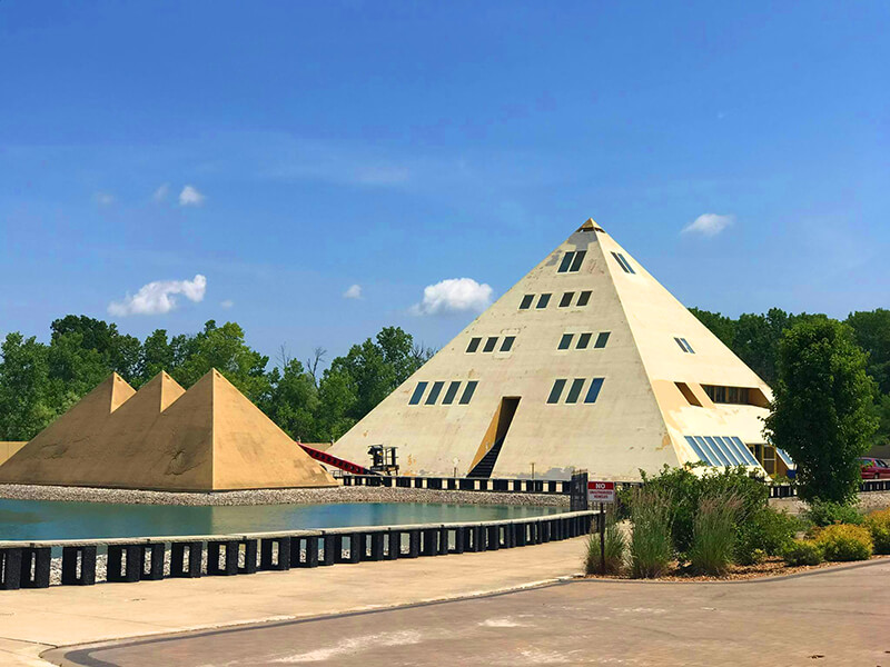 Onan's Gold Pyramid House
