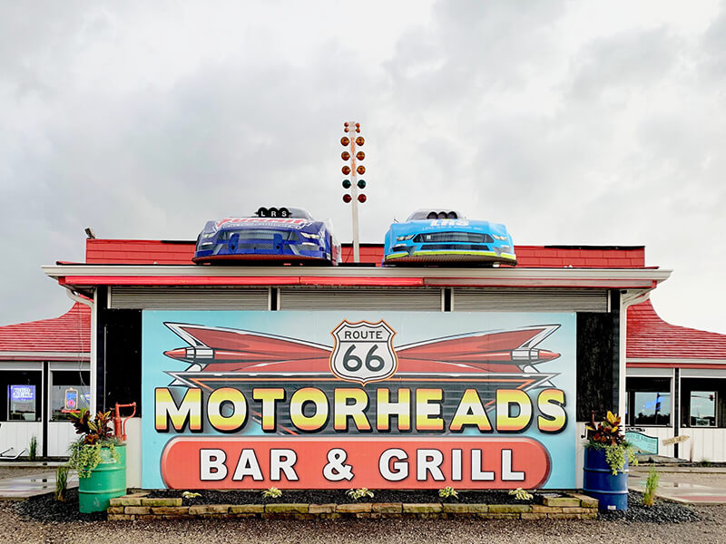 Route 66 Motorheads Bar, Grill & Museum