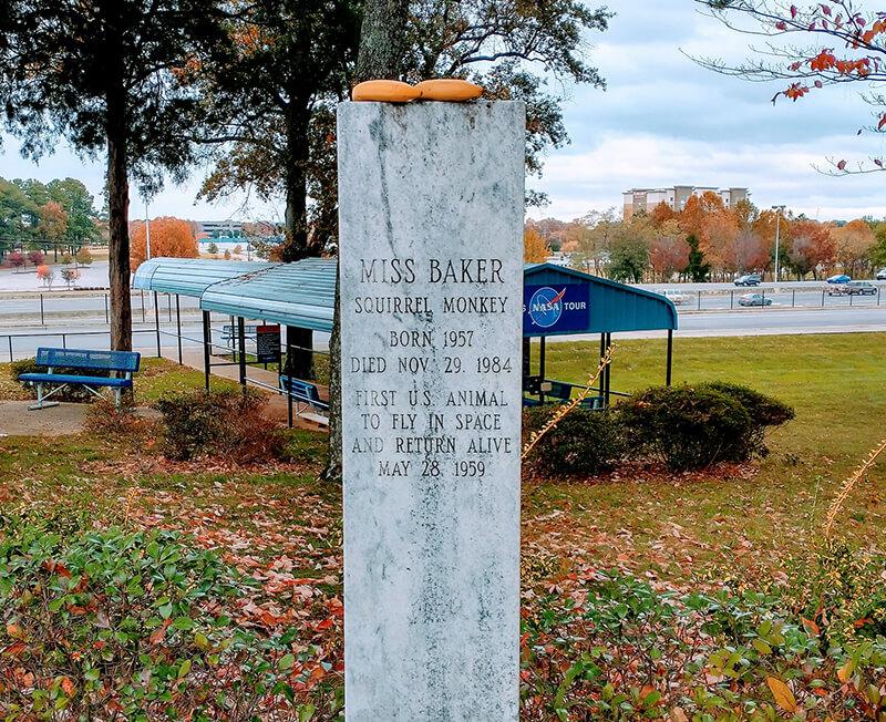 The Grave of Miss Baker